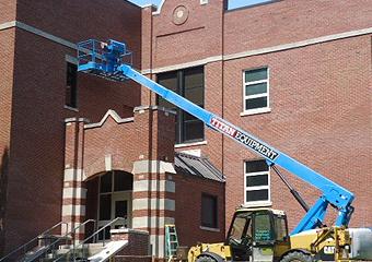 Brick Wall Repair Harbor Springs High School