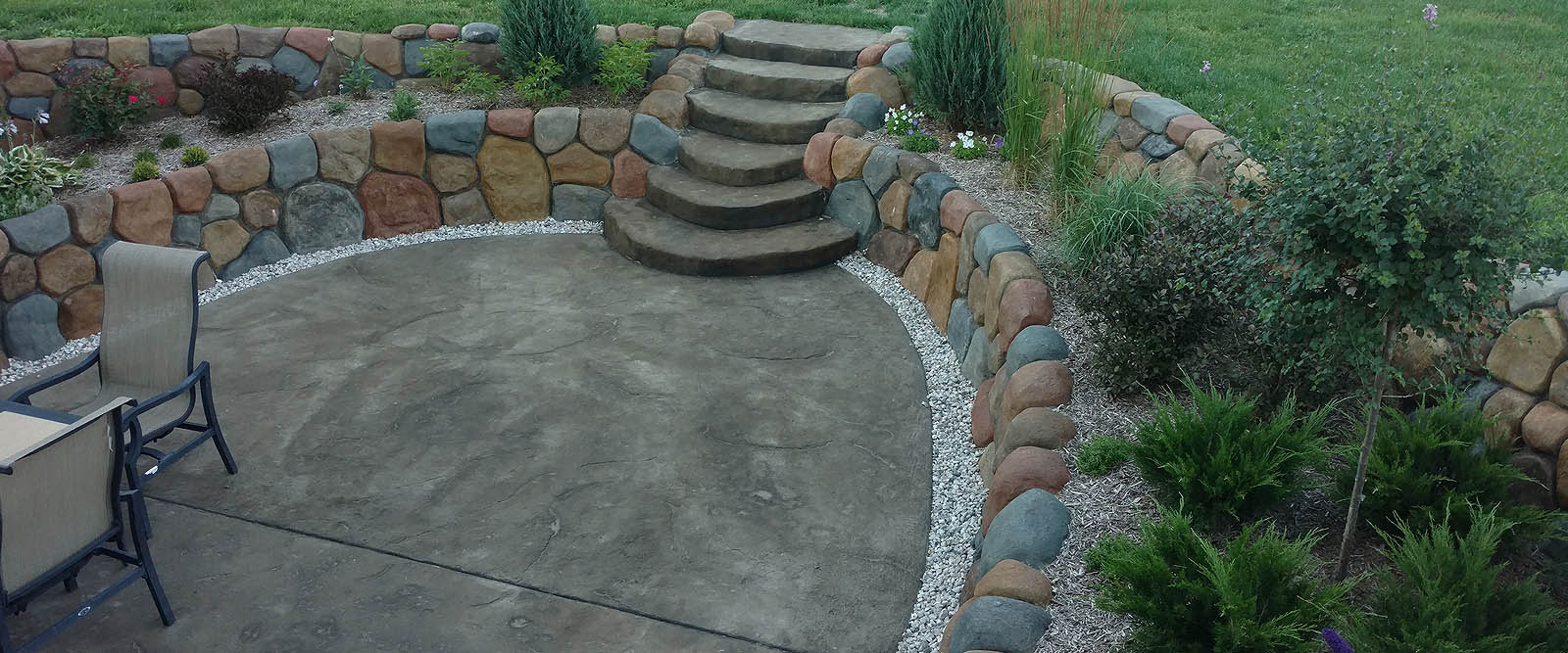 Cupps Masonry Patio Stone Michigan
