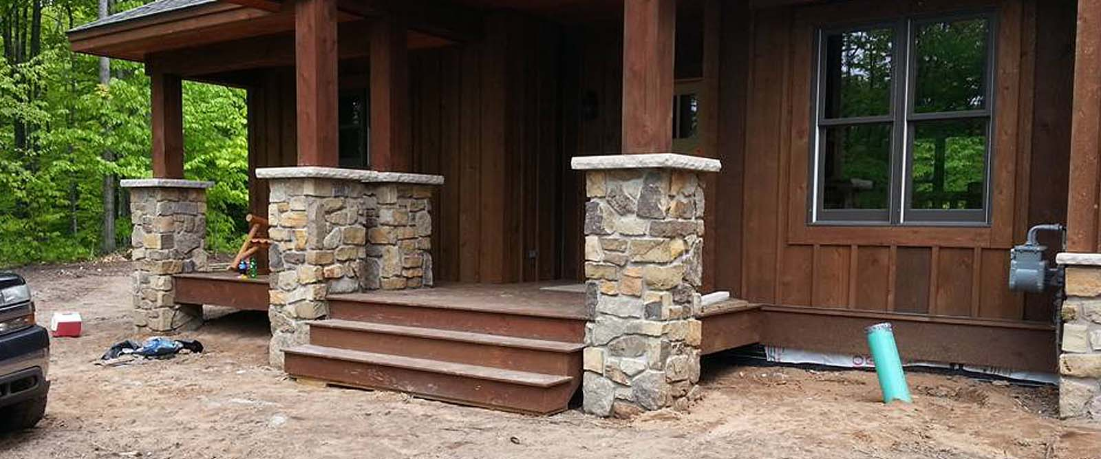 Cupps Masonry Patio Stone Home